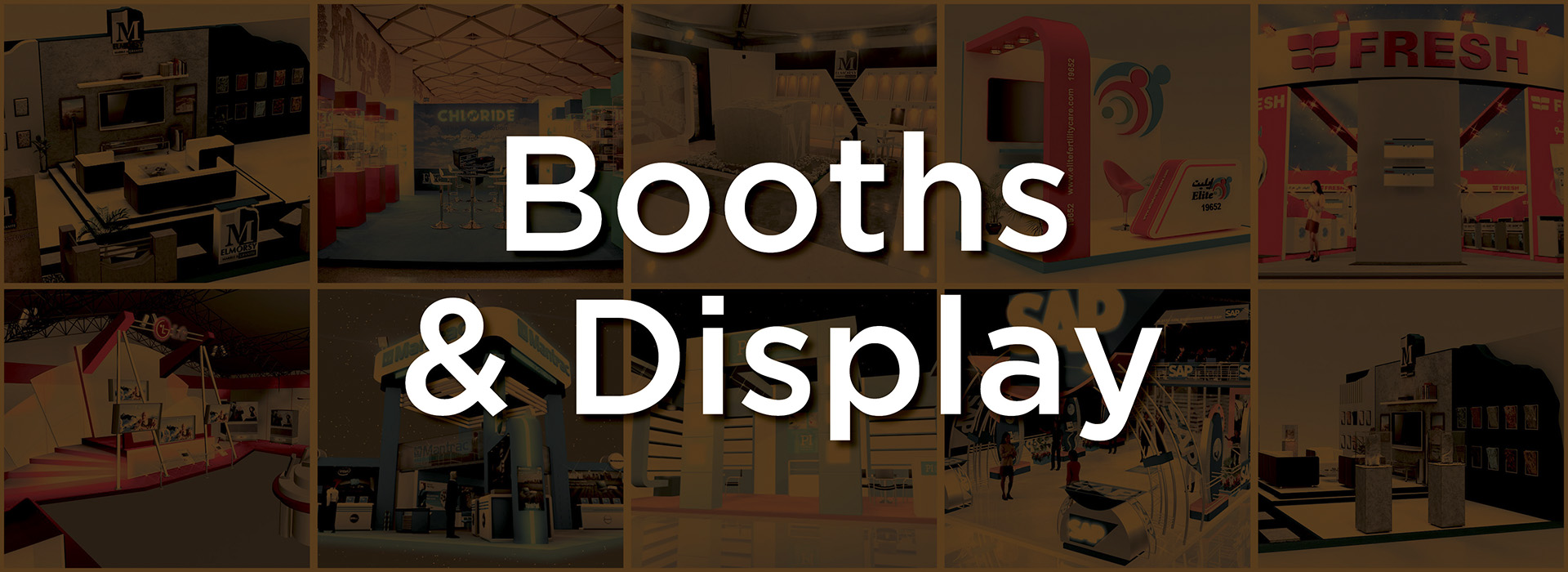 Booths & Display